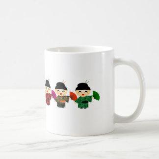 Attack of the Geisha Dolls Basic White Mug