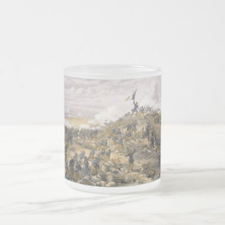 Attack on the Malakoff by William Simpson Frosted Glass Mug