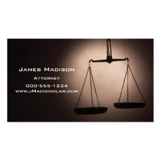 Attorney Pack Of Standard Business Cards