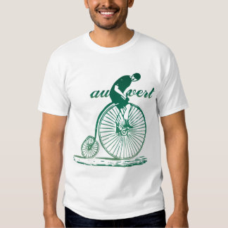 Au Vert (Go Green) Vintage Bicycle T-Shirt