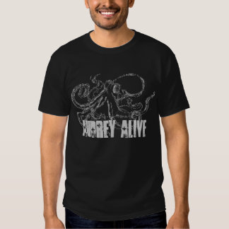 Audrey Alive- octopus T Shirt