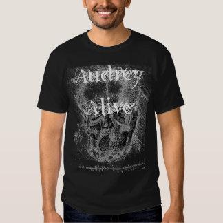 Audrey Alive- split skull Tshirts