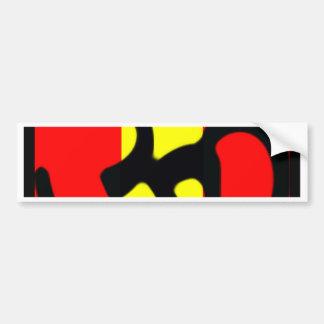 aum3 bumper sticker