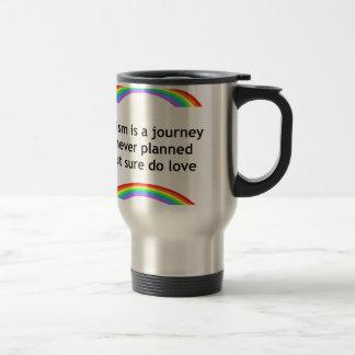 austim rainbow.jpg stainless steel travel mug