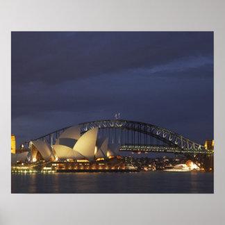 Australia, New South Wales, Sydney, Sydney Opera 3 Poster