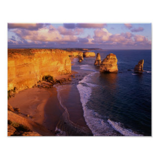Australia, Victoria. 12 Apostles, Port Poster