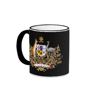 Australian Coat of Arms Mug