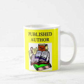 AUTHOR and writer, AUTHOR and writer Basic White Mug