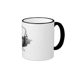 Author's Typewriter Mug