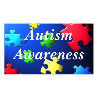 Autism Awareness Behavior Information Card Pack Of Standard Business Cards