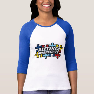 Autism Awareness Puzzle Pieces Tshirt