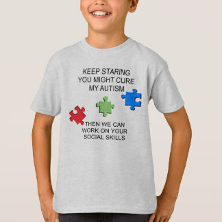 Autism Spectrum Disorder Awareness T-shirts