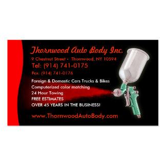 Auto Body  CUSTOMIZABLE Business Card