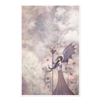 Autumn Gothic Fairy Stationary Customised Stationery