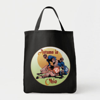 Autumn in Ohio Grocery Tote Bag