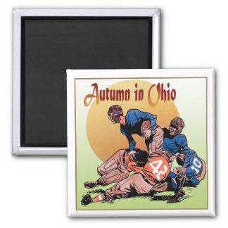Autumn in Ohio Square Magnet