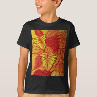 autumn leaves t shirts