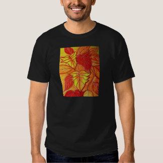 autumn leaves tee shirt