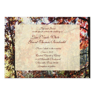 Autumn Morn Wedding Invitations