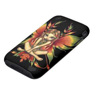 """Autumn Night Fairy"" iPhone 3 Case"