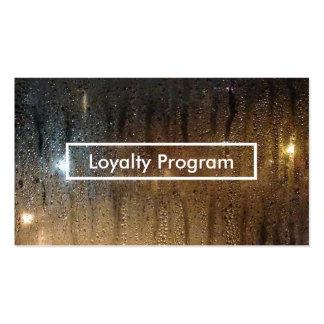 autumn rain loyalty program pack of standard business cards