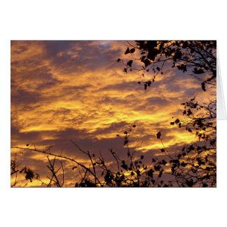 Autumn Sunrise Card