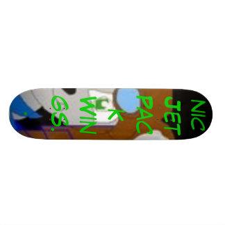 Aviator The Chinchilla, Aviator The Chinchilla ... 21.6 Cm Old School Skateboard Deck