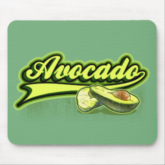 Avocado Curly Mouse Pad