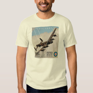 Avro Lancaster WW11 Bomber T Shirt