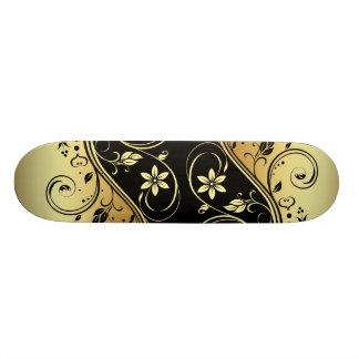 Award Winning Double Floral Scrollwork Skateboard