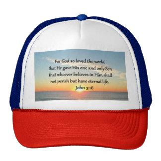 AWE-INSPIRING JOHN 3:16 SUNRISE CAP