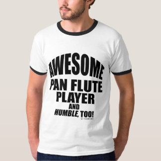 Awesome Pan Flute Player Tshirt