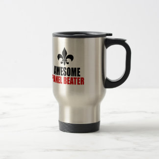 AWESOME PANEL BEATER STAINLESS STEEL TRAVEL MUG