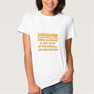 Awesome Radiographer .. Job Description T-shirts