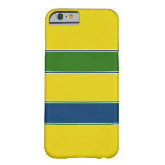 Ayrton Senna helmet design Barely There iPhone 6 Case