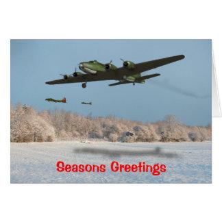 B17F Christmas Card