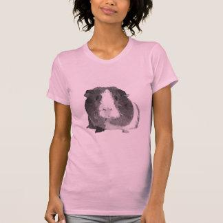 B&W 'Betty' Guinea Pig Women's T-Shirt