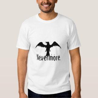 B&W Tribal Raven Nevermore Shirts