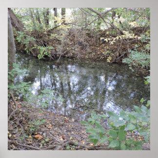 babbling brook poster