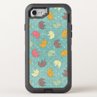 baby background OtterBox defender iPhone 7 case