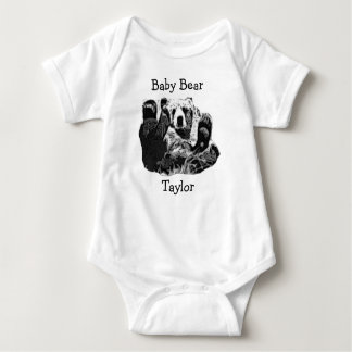 Baby Bear  Little One Piece for Baby Tshirt