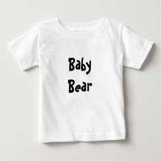 Baby Bear Mother's / Father' Day Gift - Black text Tees