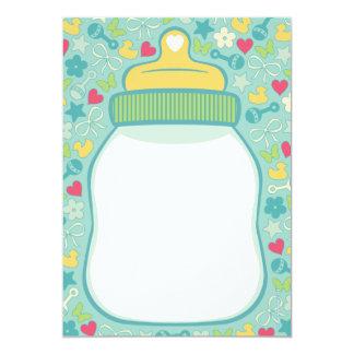 Baby Bottle Baby Shower Invitations