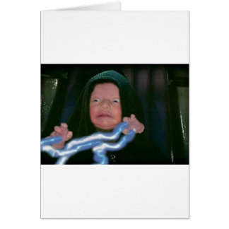 Baby Dark Side Greeting Card
