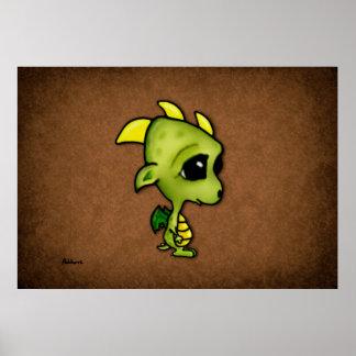 Baby Dragon Poster