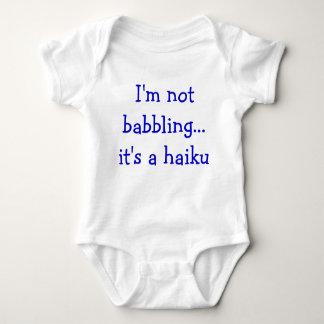 Baby Haiku Tee Shirts