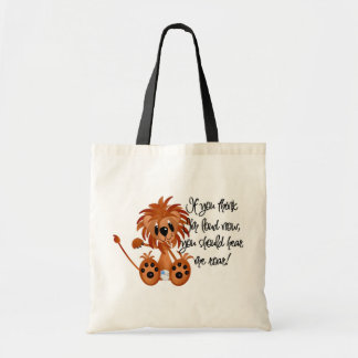 Baby Lion Hear Me Roar Tshirts and gifts Budget Tote Bag