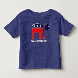 Baby republican political party mascot shirt