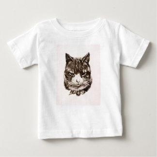 Baby T-shirt Cat reproduction vintage illustration