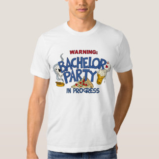 Bachelor Party in Progress Tee Shirt